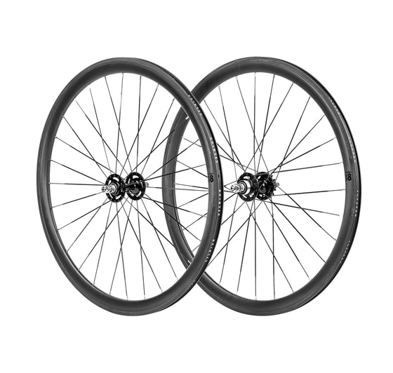 BLB Notorious 38mm Wheelset - Carbon 28h