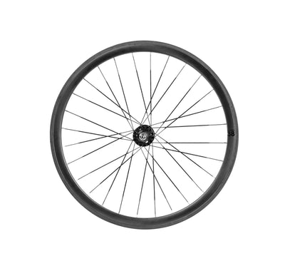 BLB Notorious 38mm Wheelset - Carbon 28h - Aventon Bikes