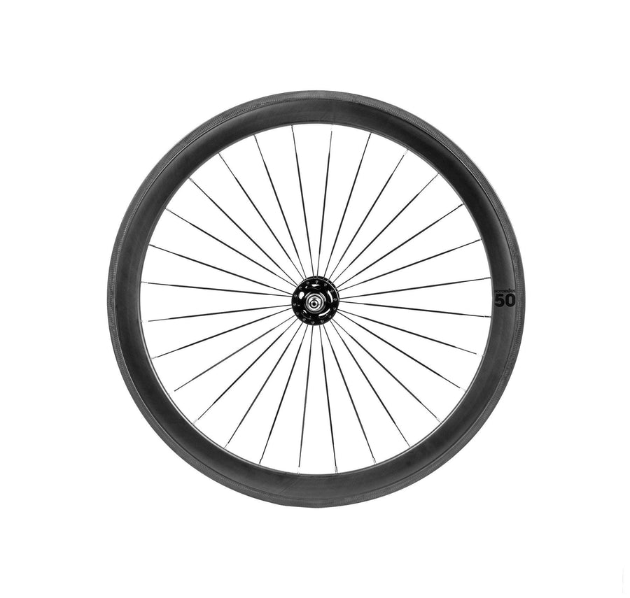 BLB Notorious 50mm Wheelset - Carbon 28h