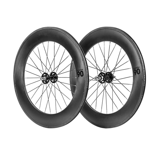 BLB Notorious 90mm Wheelset - Carbon 32h