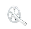 Track / Fixed Gear crankset 44t 170mm, Silver