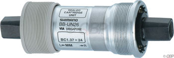Shimano UN26 68 x 110mm Square Taper English Bottom Bracket