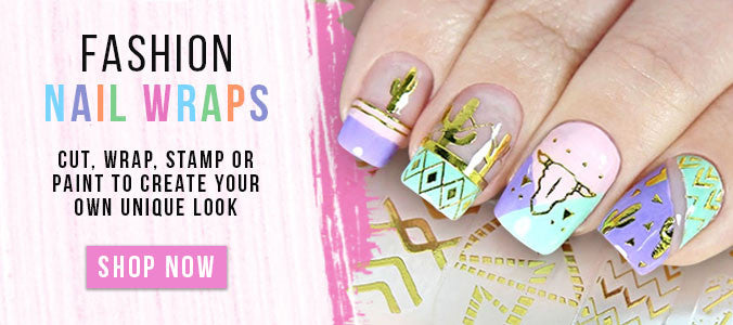 Get Flawless Manicures in Seconds with Festival Themed Fashion Nail Wraps
