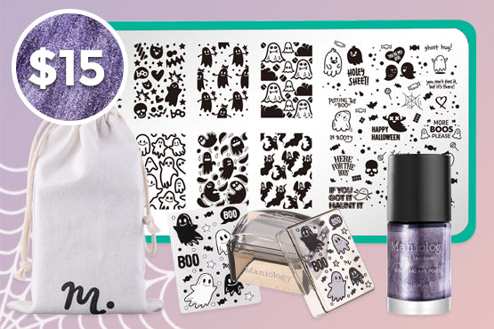SHOP BOO YA STAMPING KIT FOR $15 >