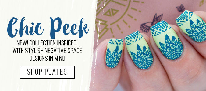 Chic Peek Stamping Plate Collection | Shop Now