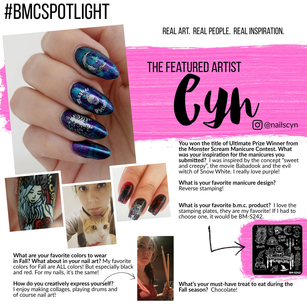 #bmcSpotlight | Each month we feature a new artist that shows us how they artistically express themselves.