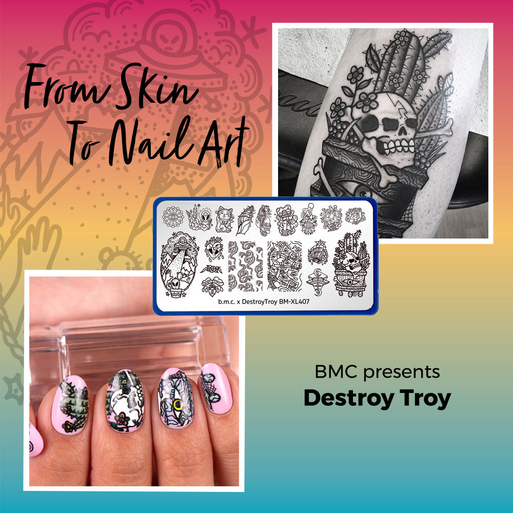 From Skin Art to Nail Art:  Meet Destroy Troy