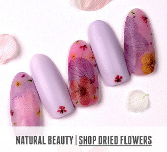 Natural Beauty | Shop Dried Flower Nail Art