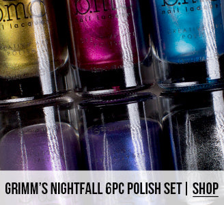 Grimm's Nightfall Stamping Polish Set | Shop Now