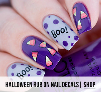 Halloween Rub on Nail Decals | Shop Now