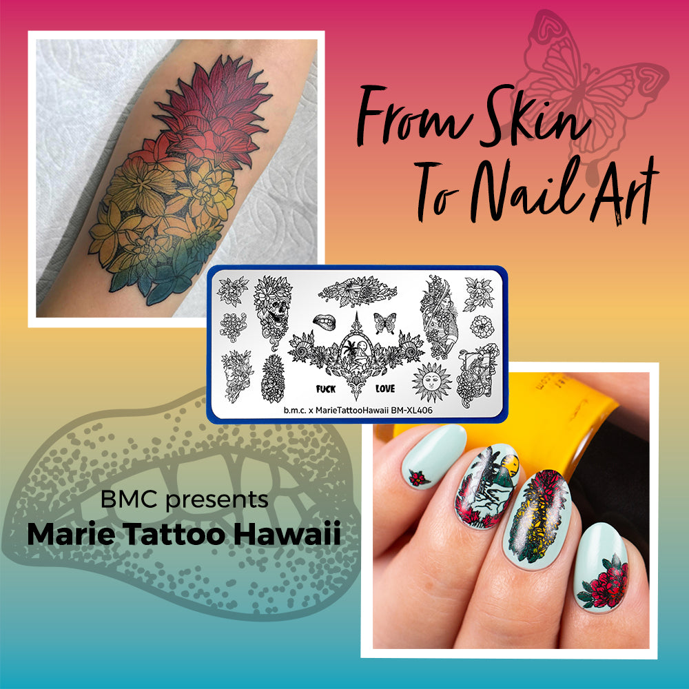 Marie Tattoo Hawaii - From Skin Art to Nail Art