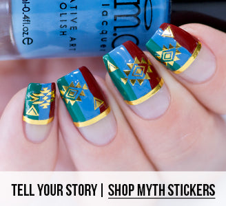 Tell Your Story | Shop Myth Stickers