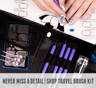 Never Miss a Detail | Shop Travel Brush Kit
