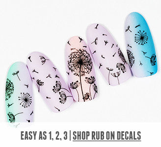 Easy as 1, 2, 3 | Shop Rub On Decals