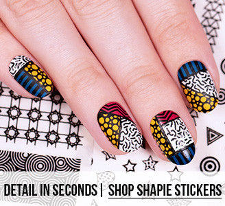 Detail in Seconds | Shop Shapie Effect Rub On Stickers