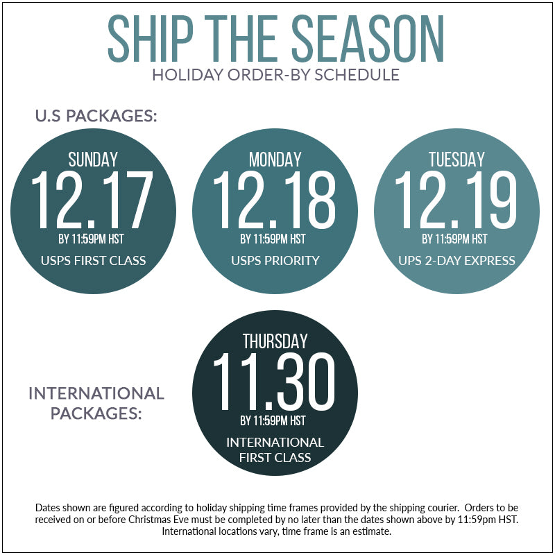 Ship the Season | Make sure you get your gifts ordered on time to receive for Christmas