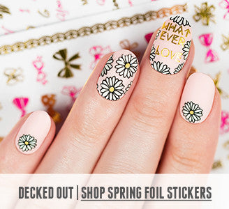 Decked Out | Shop Spring Foil Stickers