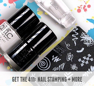 Get the 411 on Nail Stamping and More | b.m.c by Bundle Monster Nail Academy