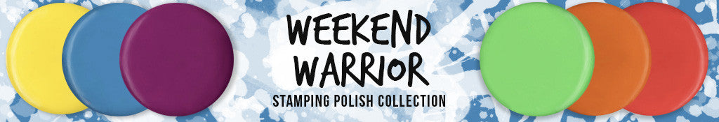Weekend Warrior Stamping Polish Collection
