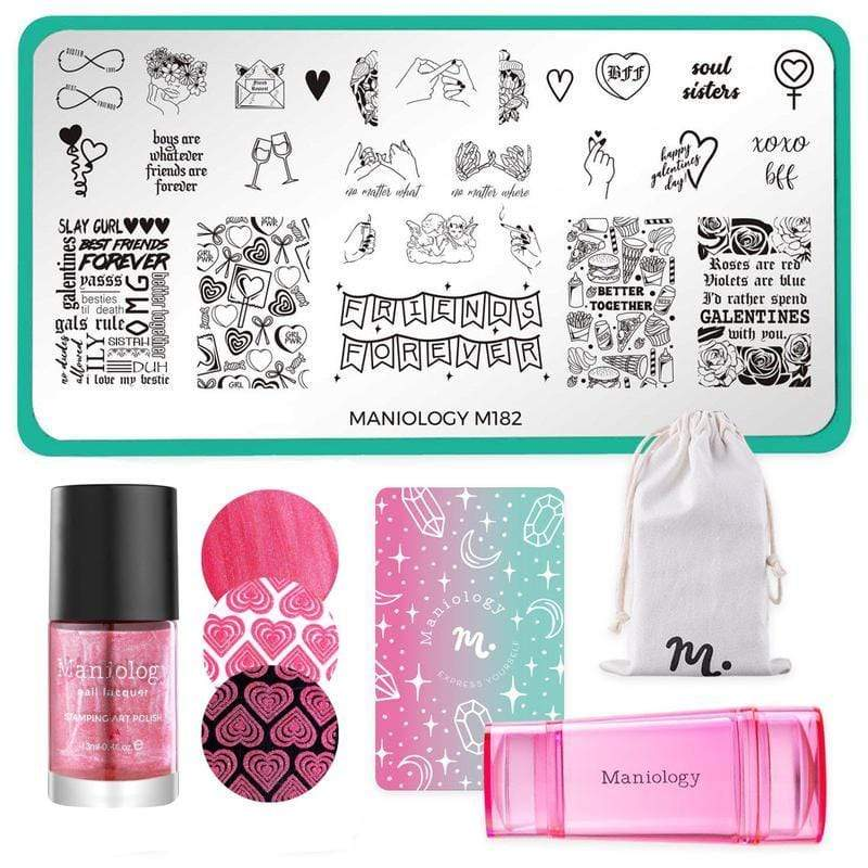 Galentine's Day Limited Edition: 4-Piece Better Together Nail Stamping Bundle