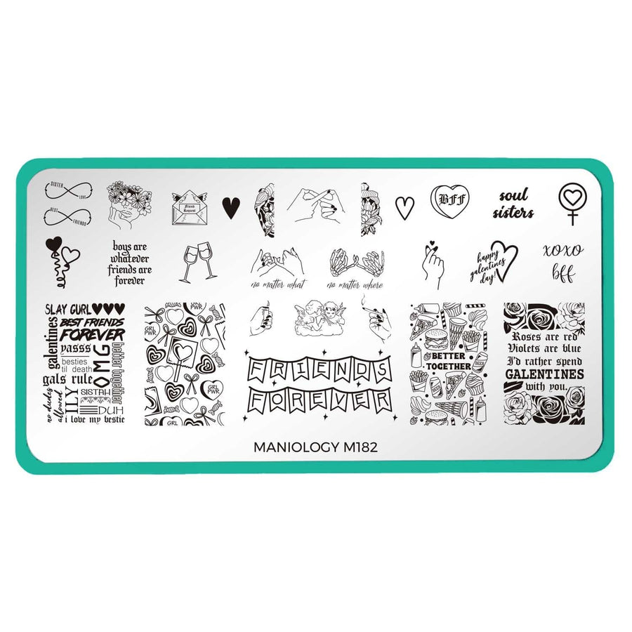 Galentine's Day Limited Edition: 5-Piece Better Together Nail Stamping Bundle