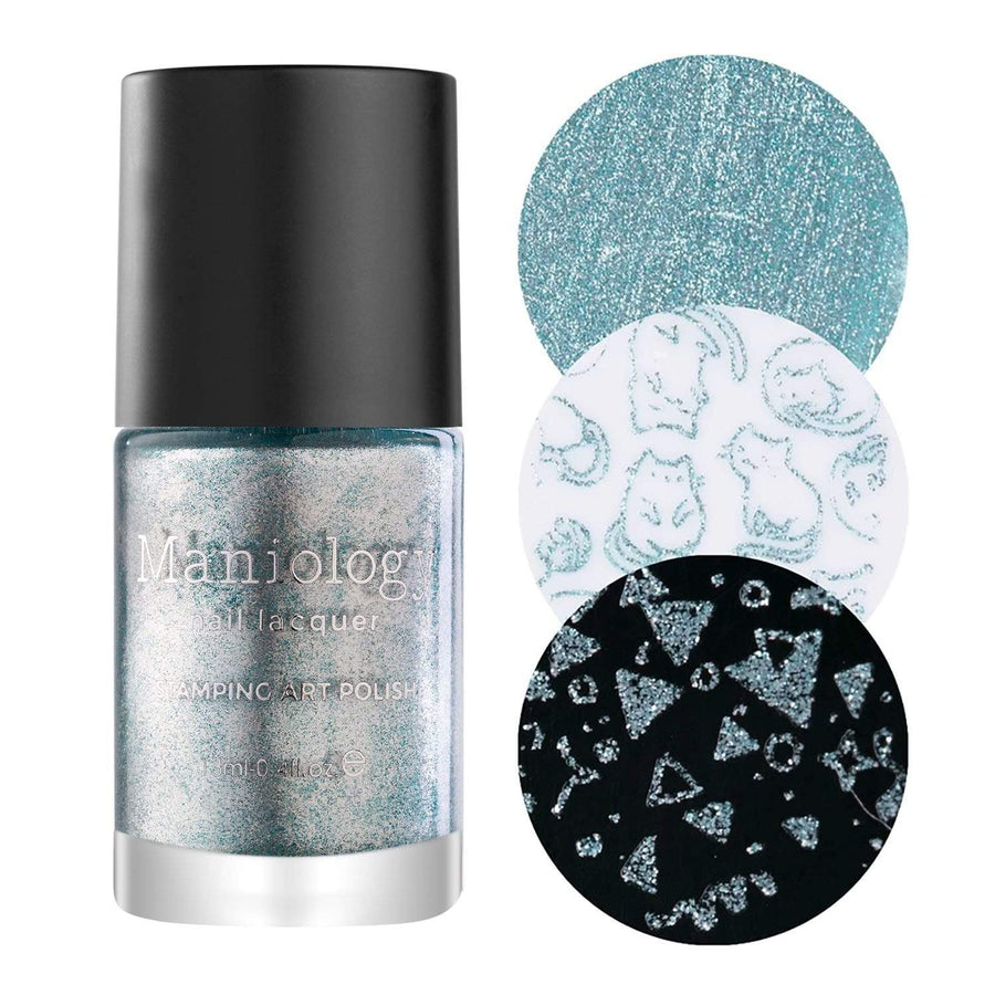 Holiday Cheers Bundle: 2 Plates, 3 Polishes, and Limited Edition Holiday Stamper & Scraper