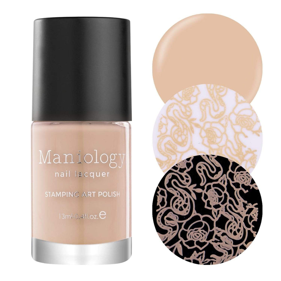 Mani x Me January 2020: Skin Deep (B325) - Nude Peach Stamping Polish