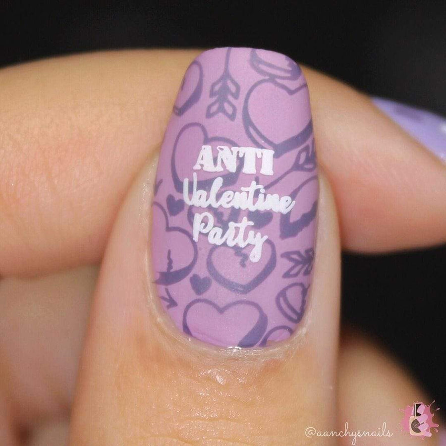 Sassy (B269) - Dark Creamy Purple Stamping Polish
