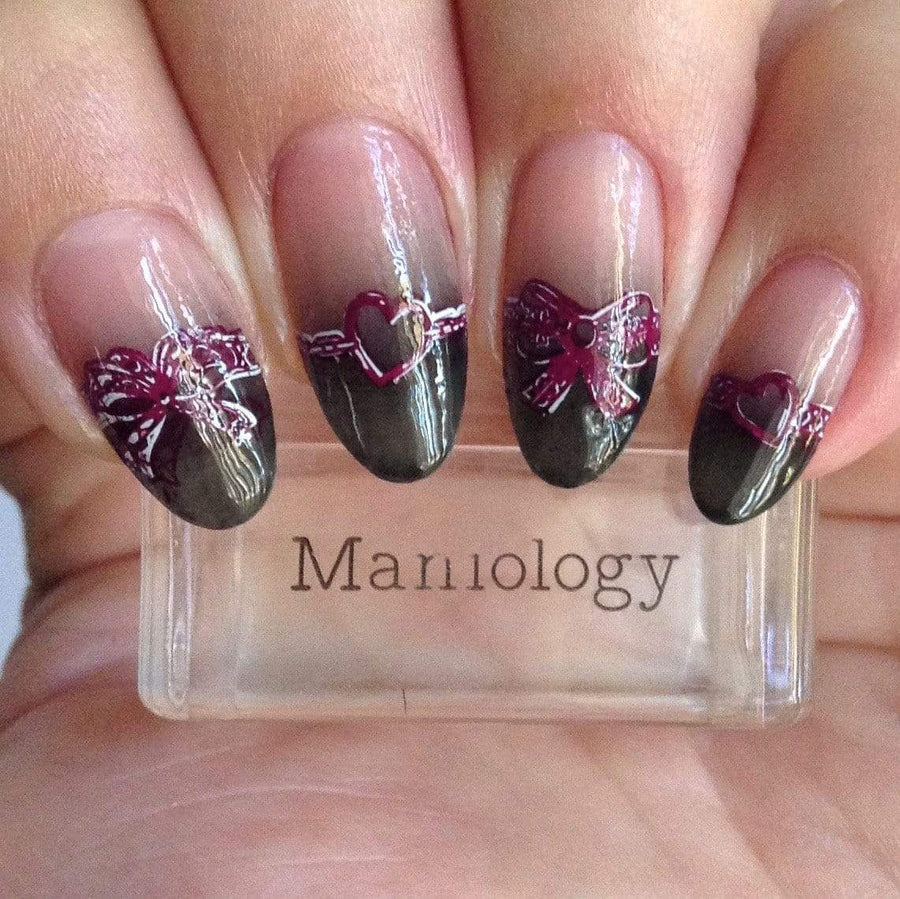 Sweet & Sultry (m187) Nail Stamping Plate