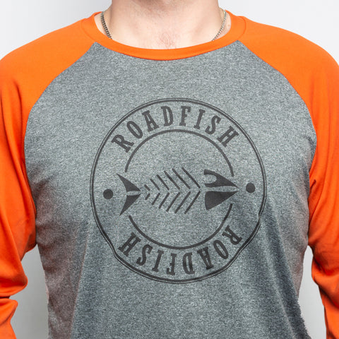 Chandail Baseball Roadfish Orange