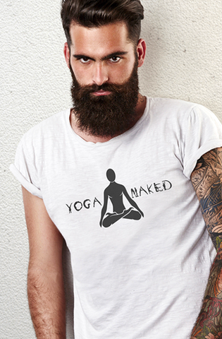 Yoga Naked - Short-Sleeve Unisex T-Shirt
