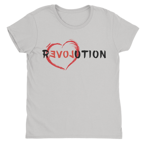 Re(LOVE)ution - Ladies T-Shirt