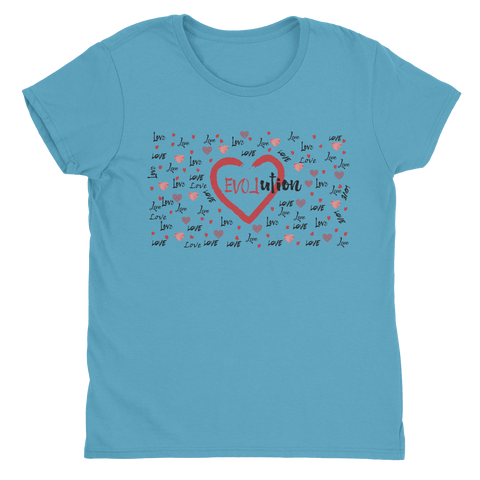 Love Evolved - Ladies T-Shirt
