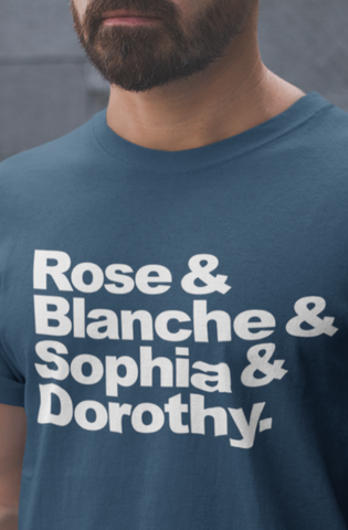 Rose, Blanche, Sophia & Dorothy by Featured Artist Michael McMurtrey