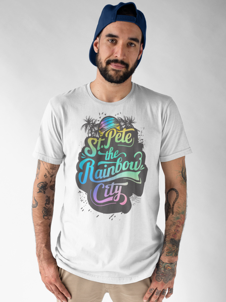St. Pete the Rainbow City - Short-Sleeve Unisex T-Shirt