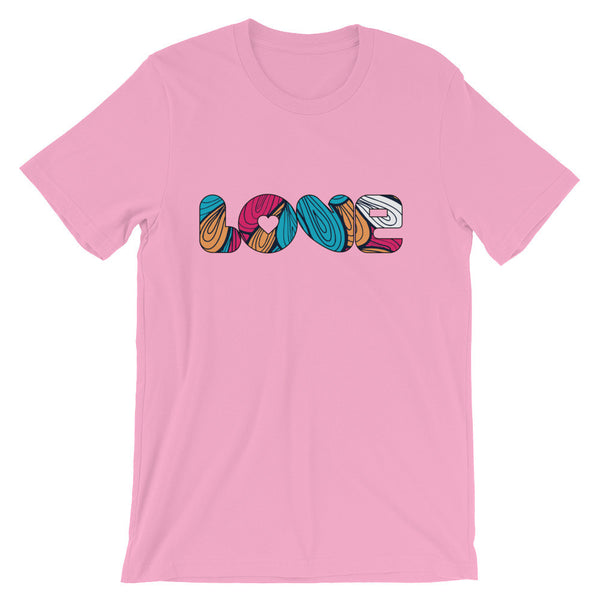 Love - Short Sleeve Jersey T-Shirt