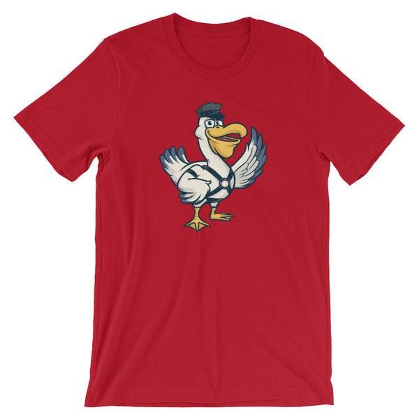 Dirty Bird Short-Sleeve Unisex T-Shirt