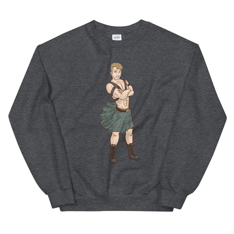 Kilted Dude Sweat Shirt
