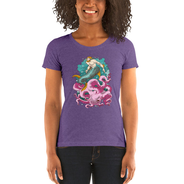 Deep Sea - Ladies' short sleeve t-shirt