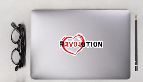 Re(Love)ution - Stickers