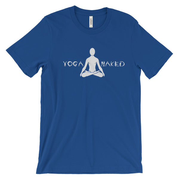 Yoga Naked - Bella + Canvas Unisex Short Sleeve Jersey T-Shirt - TriggerMouth T-Shirts and Tank Tops