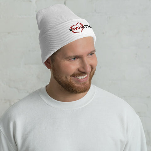 Re(Love)ution - Cuffed Beanie