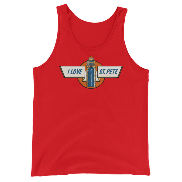 I love St. Pete - Unisex  Tank Top