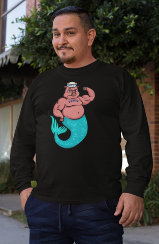 Merhog - Long Sleeve Tee
