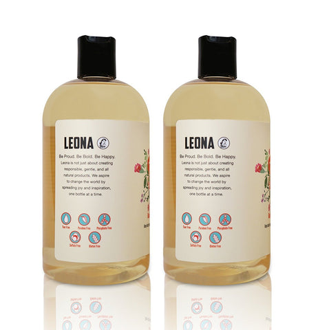 3-in-1 Baby Shampoo Bubble Bath and Body Wash - 32 oz- By Lil Leona