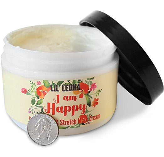 Pregnancy Cream For Stretch Marks: Belly Butter Made with Shea Butter and Vitamin E - 8 oz
