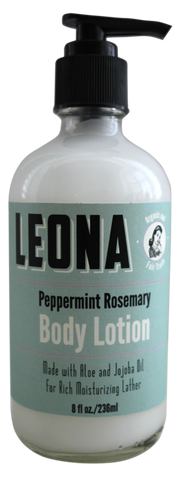 Peppermint Rosemary Lotion