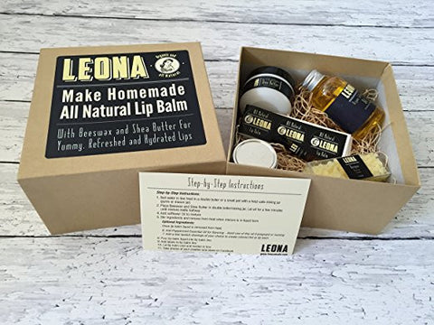 DIY Lip Balm Kit by Leona