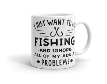 Salty Cubans - Just want to go Fishing Mug