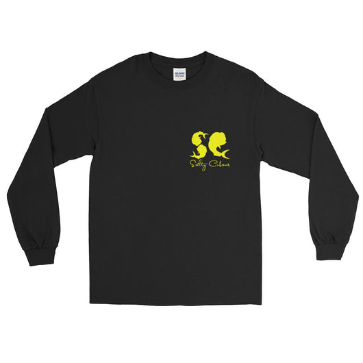 Black/Yellow Long Sleeve T-Shirt